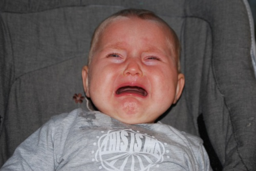 Płacz dziecka.