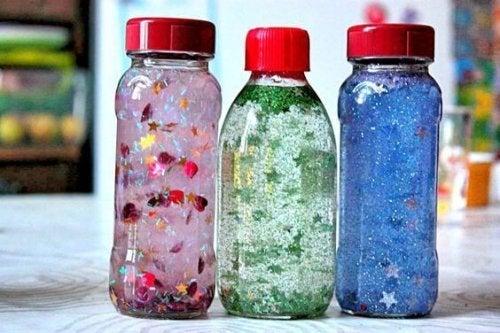 sensoryczne butelki
