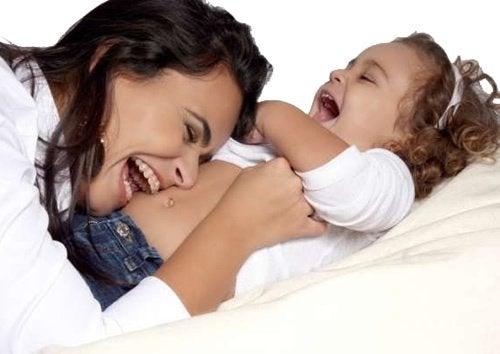 Śmiech zamiast krzyczeć na dzieci