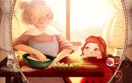 Reakcja babci, gdy widzi wnuka po raz pierwszy