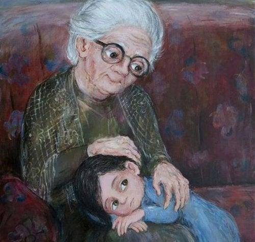 Moja babcia, najpiękniejsza gwiazda na niebie
