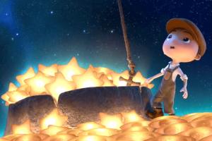 Chłopiec i gwiazdy