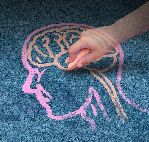 Gimnastyka umysłowa - rysowanie kredą