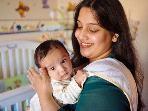 Mama i syn - zasady prawidłowej higieny