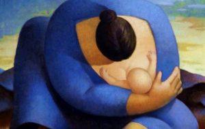 Mama z dzieckiem - karmienie piersią