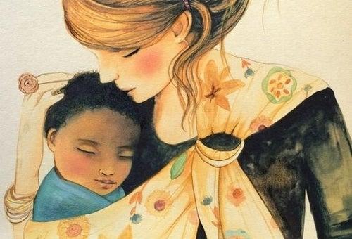Mama opiekująca się dzieckiem to też kobieta pracująca