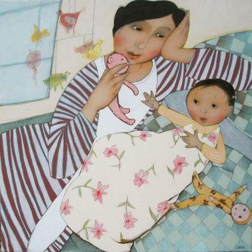 Matki nie śpią – one zawsze pozostają w stanie gotowości