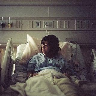 Matka w szpitalu