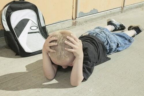 Chłopiec - napady złości
