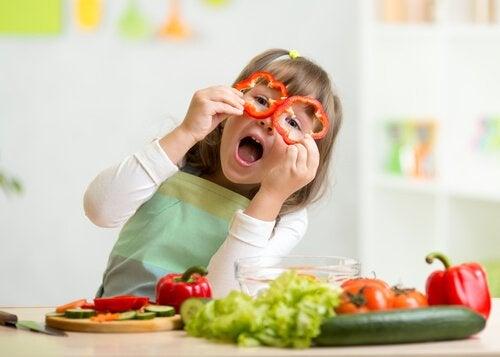 Zdrowe pokarmy dla dziecka