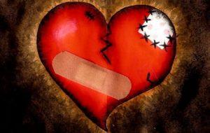 rany emocjonalne w sercu
