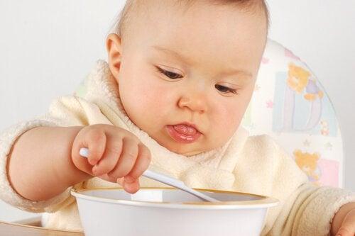Produkty spożywcze w diecie niemowlęcia