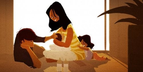 Rozpieszczanie - mama i tata wychowują dzieci