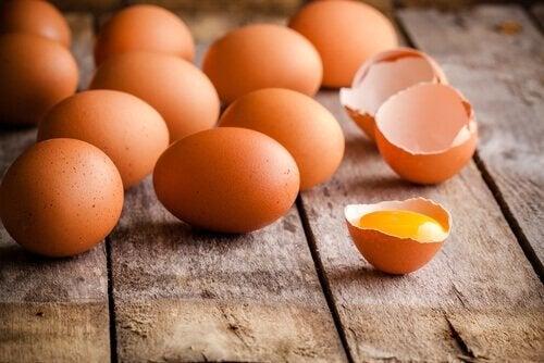 Jajka są ważnym składnikiem dziecięcej diety.