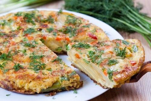 Omlety dla dzieci z pietruszką są aromatyczne i zdrowe.