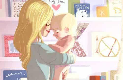 Trzymanie dziecka w ramionach - dlaczego jest takie ważne?