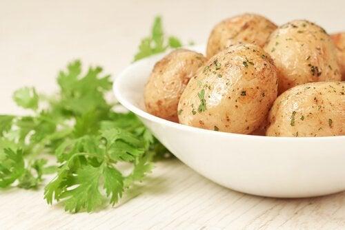 Ziemniaki - wysokobiałkowe przeciery dla dzieci