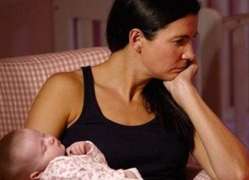 Być zmęczoną mamą