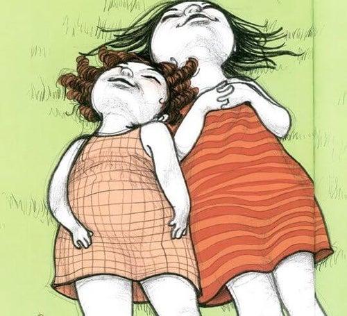 Relacja cioci i wujka z dziećmi oparta jest na zrozumieniu i zaufaniu.