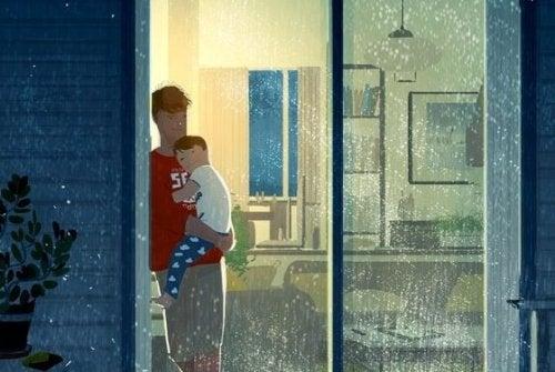 Dobry ojciec zostawia dziecku wspaniałe dziedzictwo