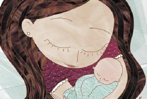Bycie matką- opieka nad dzieckiem