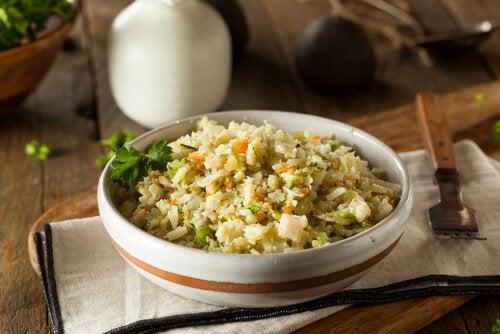 Ryż będzie dla malucha źródłem węglowodanów.