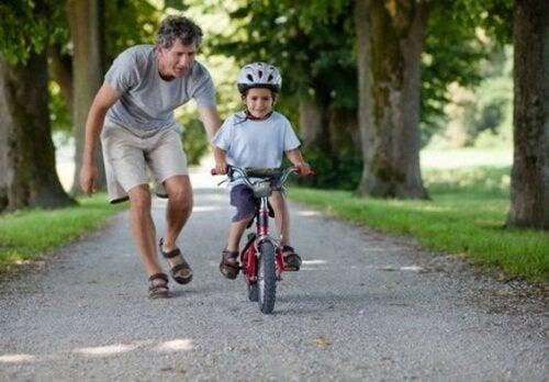 Umiejętności motoryczne - jazda na rowerze
