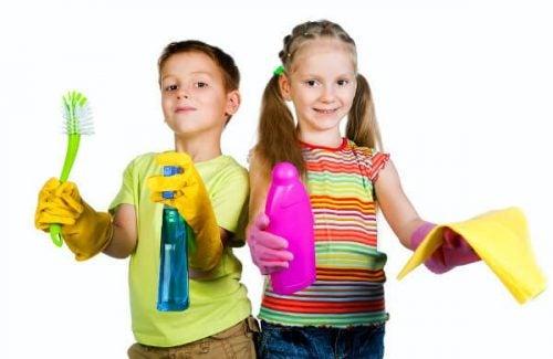 Obowiązki domowe dzieci