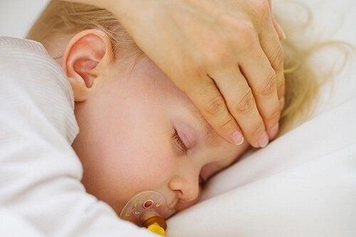Gorączkujące dziecko