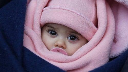 Opatulone dziecko