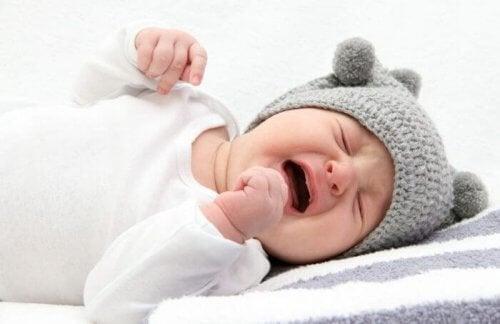 Jak szybko uspokoić płaczące niemowlę wrażliwe na zmiany temperatury
