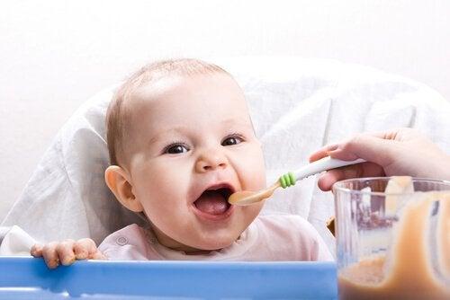 Zdrowe posiłki dla dzieci od 9 miesięcy: nowe tekstury