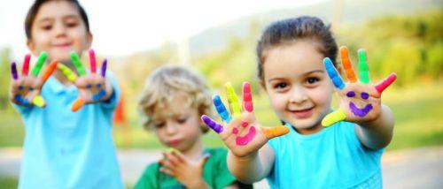 Zajęcia manualne dla dzieci w wieku 3 do 5 lat