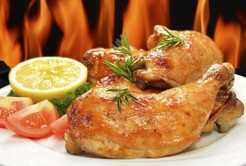 Kurczak z cytryną