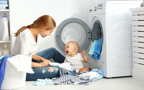 Prabnie ubranek dziecięcych