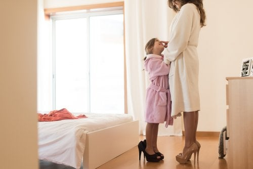 Matka to najlepszy przykład dla córki