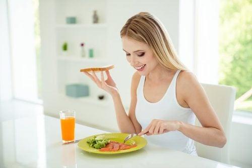 Zdrowie śniadanie niwelujące niedobór witaminy D