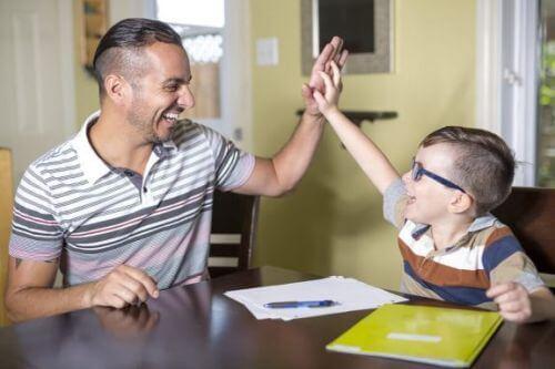 Rodzic pracuje, by Poprawić produktywność dziecka