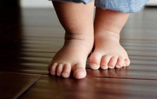 Dziecięce stopki