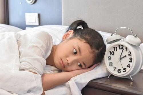 Zaburzenia snu u dzieci.
