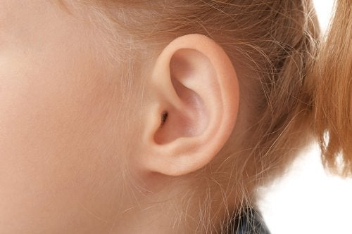 Ucho dziecka