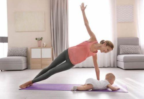 Aktywność fizyczna w okresie poporodowym: 3 pomysły