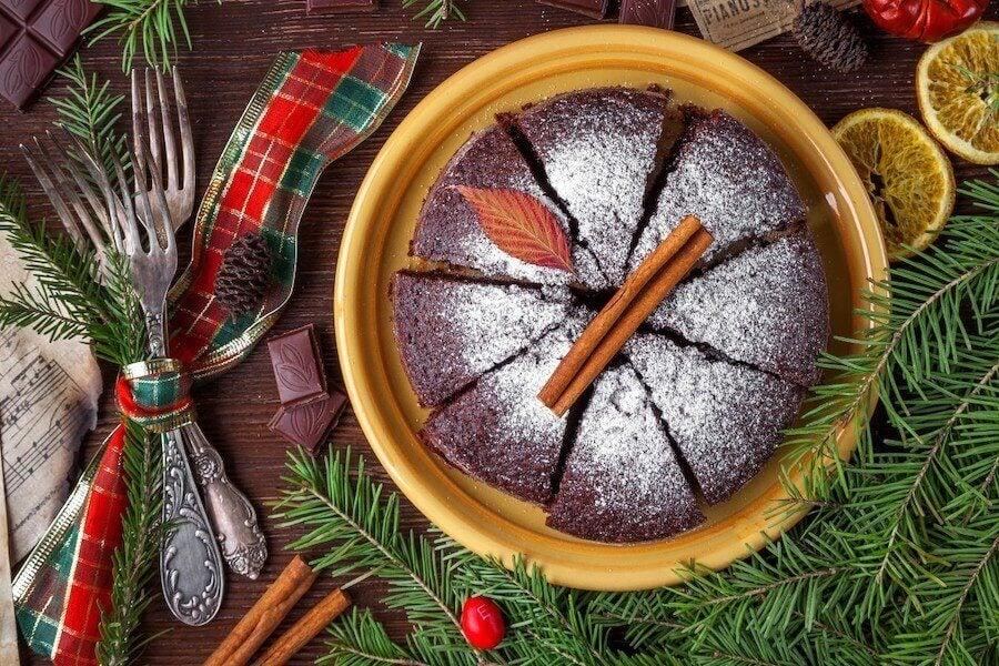 Świąteczne ciasto