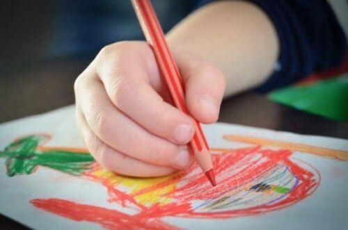 Jak interpretować kolory na rysunkach dziecka