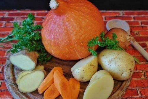 Marchew i ziemniaki