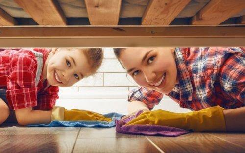 Utrzymanie czystości w domu z dzieckiem