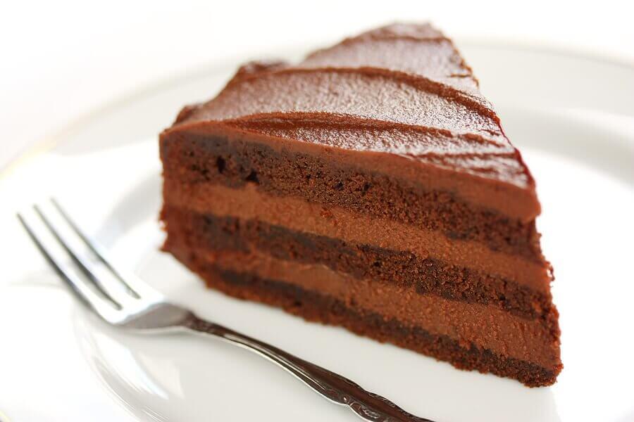 Tarty dla dzieci - tarta czekoladowa