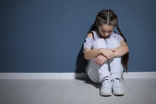 Dziewczynka z depresją