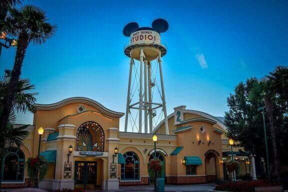 Brama do studia filmowego Disney