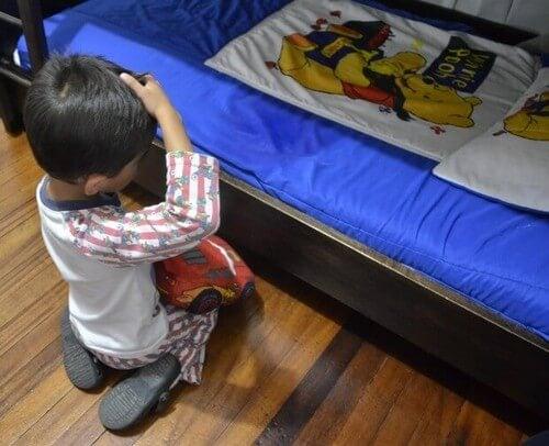 Chłopiec, który zmoczył łóżko
